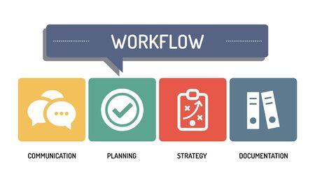 workflow: WORKFLOW - ICON SET Illustration