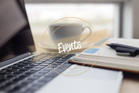 EVENTS CONCEPT Stock Photo