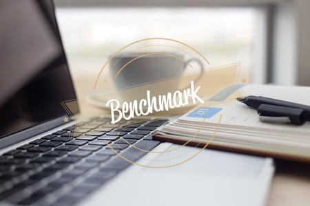 BENCHMARK CONCEPT Stock Photo