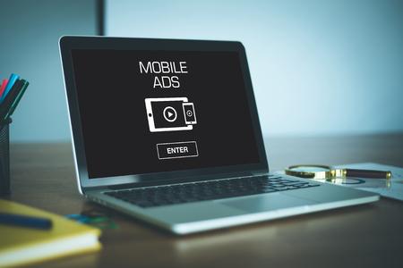 Los anuncios para móviles CONCEPTO