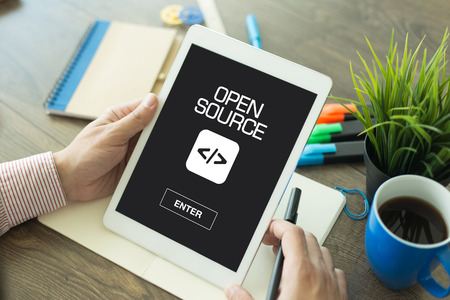 source: OPEN SOURCE CONCEPT Stock Photo