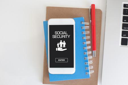 seguridad social: CONCEPTO DE SEGURIDAD SOCIAL Foto de archivo
