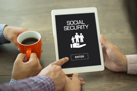 seguridad social: SOCIAL SECURITY CONCEPT