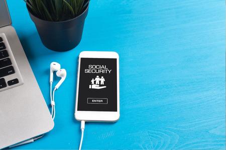 seguridad social: SOCIAL SECURITY CONCEPT