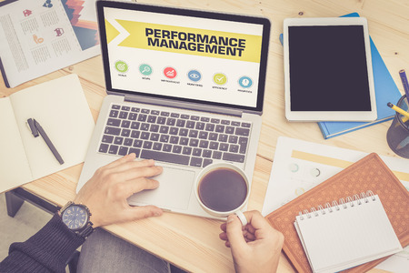 time critical: PERFORMANCE MANAGEMENT ICONS ON SCREEN