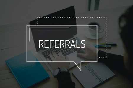referidos: COMMUNICATION WORKING TECHNOLOGY  REFERRALS CONCEPT