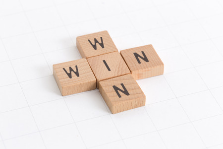 WIN WIN CONCEPT Stock Photo