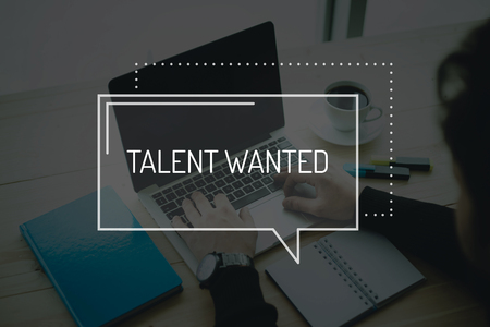 human potential: COMMUNICATION WORKING TECHNOLOGY BUSINESS TALENT WANTED CONCEPT