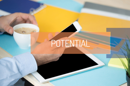 potential: POTENTIAL CONCEPT Stock Photo