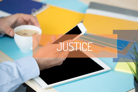 JUSTICE CONCEPT Stock Photo