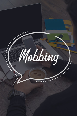 mobbing: BUSINESS COMMUNICATION WORKING TECHNOLOGY MOBBING CONCEPT