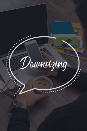 downsizing: BUSINESS COMMUNICATION WORKING TECHNOLOGY DOWNSIZING CONCEPT