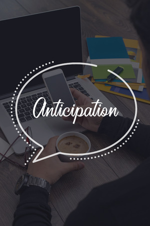 anticipation: BUSINESS COMMUNICATION WORKING TECHNOLOGY ANTICIPATION CONCEPT