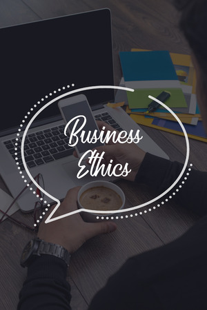 working ethic: BUSINESS COMMUNICATION WORKING TECHNOLOGY BUSINESS ETHICS CONCEPT