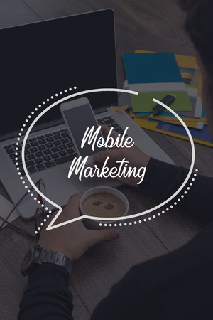 mobile communication: BUSINESS COMMUNICATION WORKING TECHNOLOGY MOBILE MARKETING CONCEPT