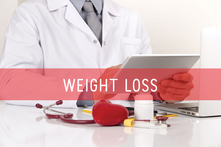 HEALTHCARE AND MEDICAL CONCEPT: WEIGHT LOSS
