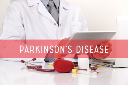 HEALTHCARE AND MEDICAL CONCEPT: PARKINSONS DISEASE