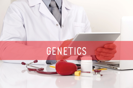 genetica: HEALTHCARE AND MEDICAL CONCEPT: GENETICS