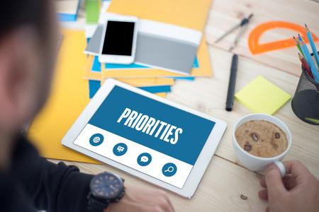 priorities: PRIORITIES SCREEN CONCEPT