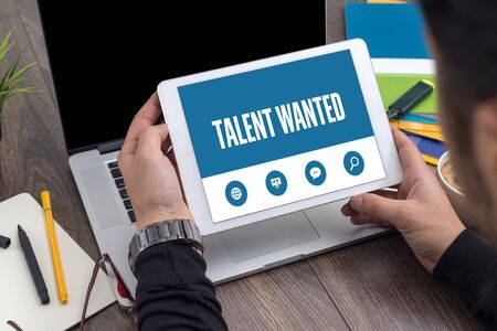human potential: TALENT WANTED SCREEN CONCEPT