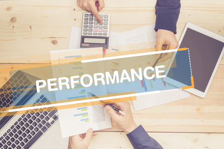 summarized: BUSINESS TEAM WORKING OFFICE PERFORMANCE CONCEPT
