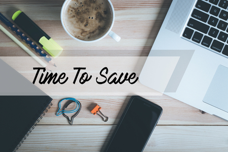 frugality: TIME TO SAVE CONCEPT