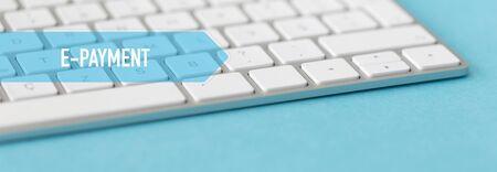 epayment: TECHNOLOGY CONCEPT BANNER: E-PAYMENT