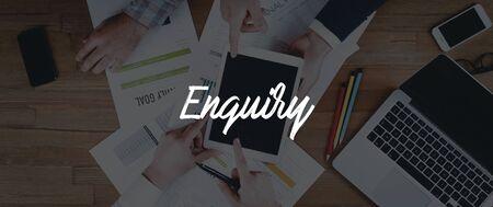 enquiry: TECHNOLOGY INTERNET TEAMWORK ENQUIRY CONCEPT