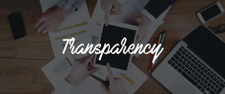 TECHNOLOGY INTERNET TEAMWORK TRANSPARENCY CONCEPT Stock Photo
