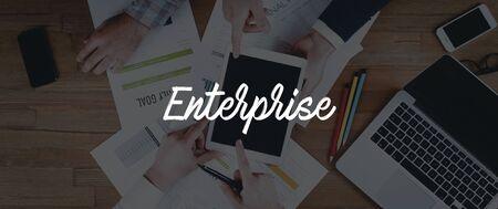 TECHNOLOGY INTERNET TEAMWORK ENTERPRISE CONCEPT