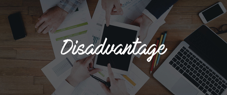 disadvantage: TECHNOLOGY INTERNET TEAMWORK DISADVANTAGE CONCEPT