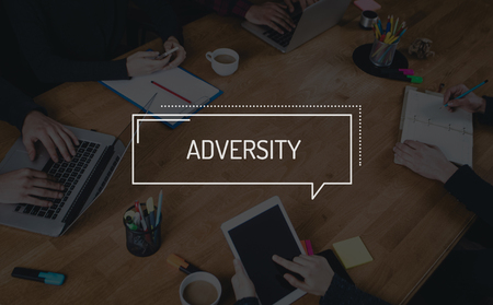 idea hurdle: BUSINESS TEAMWORK WORKING OFFICE BRAINSTORMING ADVERSITY CONCEPT Stock Photo