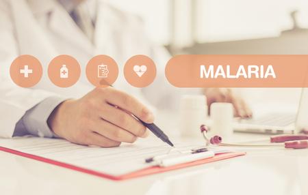 malaria: HEALTH CONCEPT: MALARIA