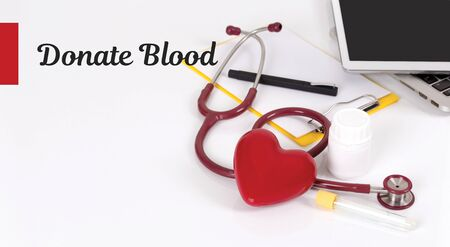 HEALTH CONCEPT: DONATE BLOOD