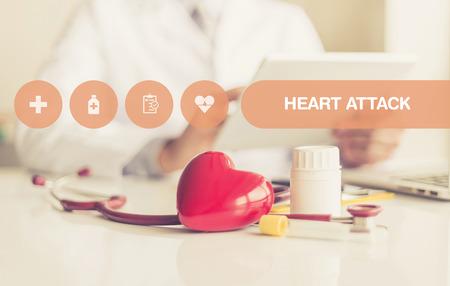 HEALTH CONCEPT: HEART ATTACK
