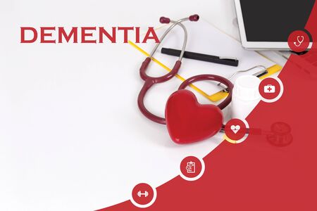 HEALTH CONCEPT: DEMENTIA Stock Photo