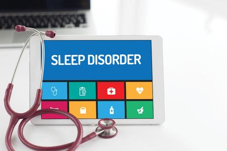 desorden: HEALTH CONCEPT: SLEEP DISORDER