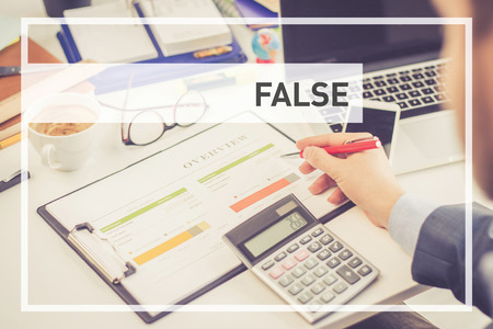 false: BUSINESS CONCEPT: False