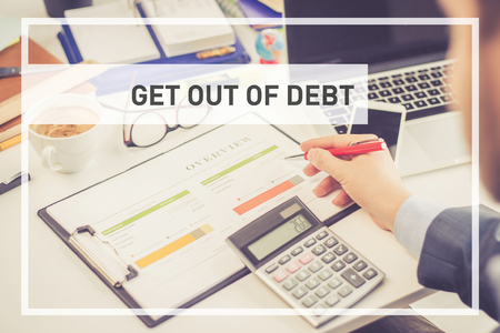 BUSINESS CONCEPT: GET OUT OF DEBT