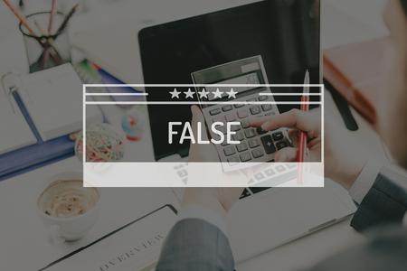 falso: BUSINESS CONCEPT: False