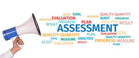 Business Concept: Assessment Word Cloud