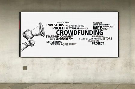 Business Concept: Crowfunding Word Cloud