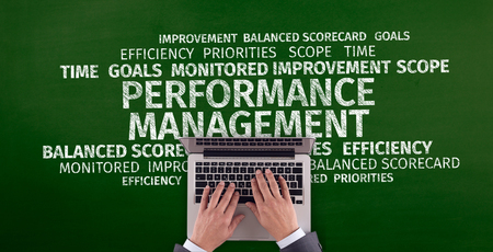 Business Concept: Performance Management Word Cloud