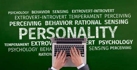 extrovert: Business Concept: Personality Word Cloud