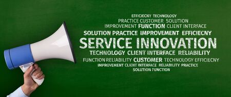 Business Concept: Service Innovation Word Cloud