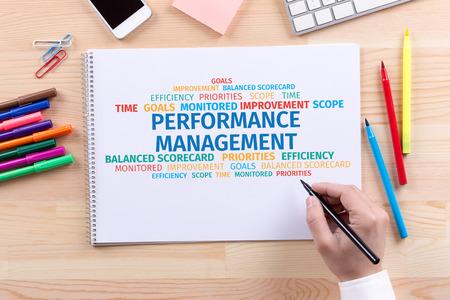 Business Concept: Performance Management Word Cloud