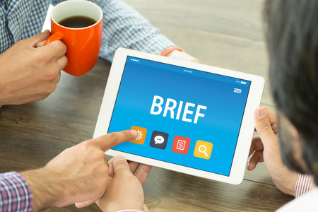 brief: BRIEF CONCEPT ON TABLET PC SCREEN