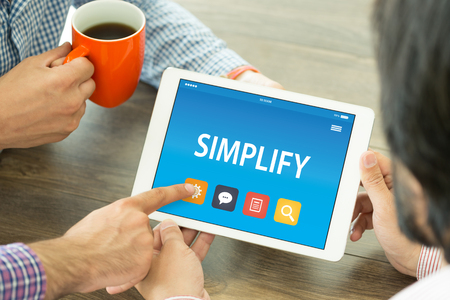 clarify: SIMPLIFY CONCEPT ON TABLET PC SCREEN