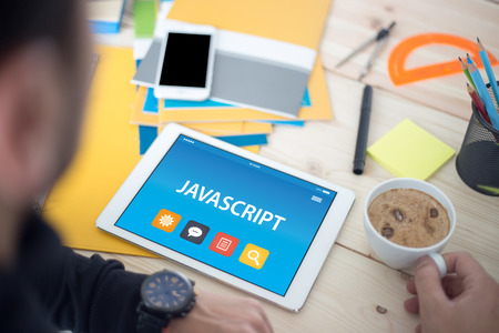 JAVASCRIPT CONCEPT ON TABLET PC SCREEN