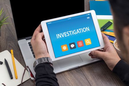 INVESTIGATION CONCEPT ON TABLET PC SCREEN